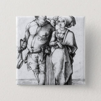 The Cook and his Wife Button