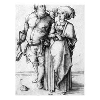 The Cook and his Wife Postcard