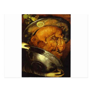 The Cook by Giuseppe Arcimboldo Postcard
