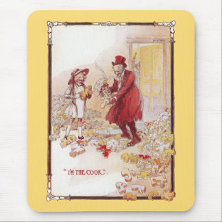 The Cook is Scrambled Vintage Oz Mouse Pad