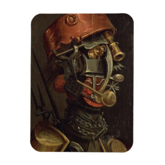 The Cook (oil on panel) Rectangular Photo Magnet