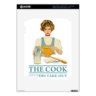 The Cook Prefers Take-out iPad 3 Decals