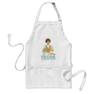 The Cook Requests the Night Off Adult Apron