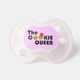 The Cookie Queen Baby Pink Pacifier