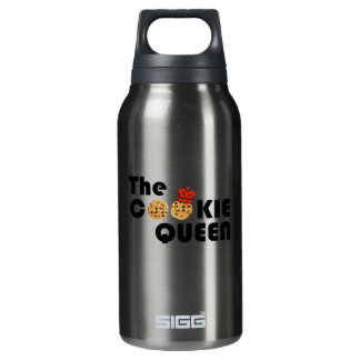 The Cookie Queen Insulated Water Bottle