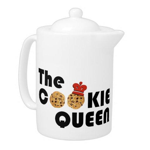 The Cookie Queen Teapot