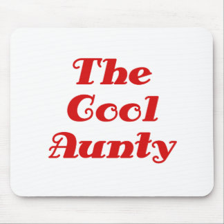 The Cool Aunty Mouse Pad