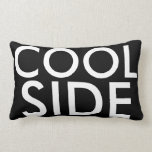 The Cool Side of the Pillow White Text on Black