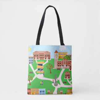 The Coolest Campus Tote Bag