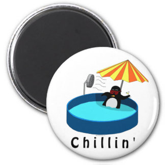 The Coolest Penguin Fridge Magnet