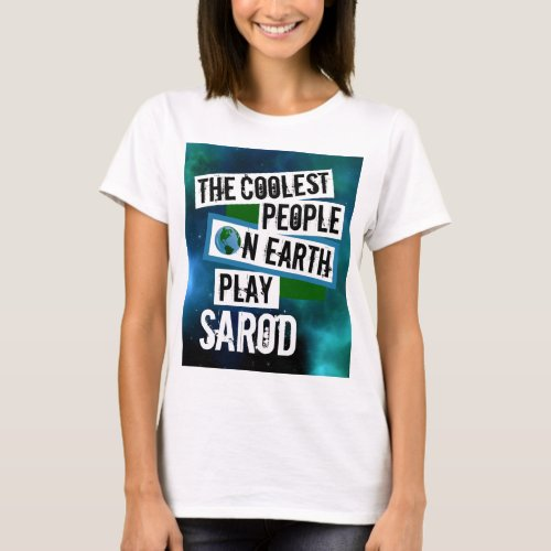 The Coolest People on Earth Play Sarod Nebula Basic T-Shirt