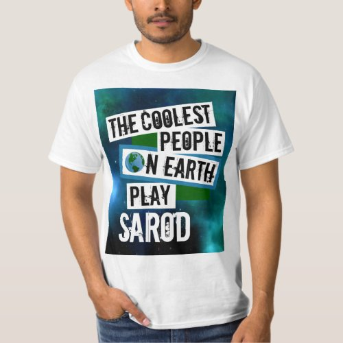 The Coolest People on Earth Play Sarod Nebula Value T-Shirt