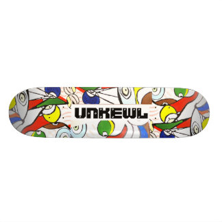 The Coolest Skateboard in the world: BRAND UNKEWL