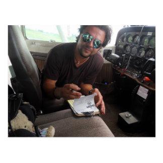 The copilot postcard