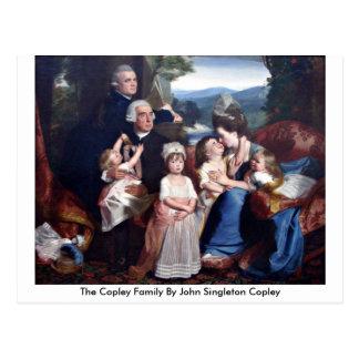 The Copley Family By John Singleton Copley Postcard