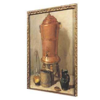 The Copper Drinking Fountain, c.1733-34 Canvas Print