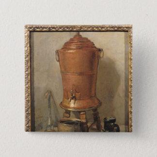 The Copper Drinking Fountain, c.1733-34 Pinback Button