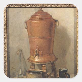 The Copper Drinking Fountain, c.1733-34 Square Sticker