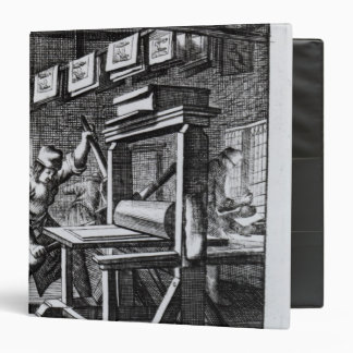 The Copper-plate Engraver, from 'Iets voor 3 Ring Binder