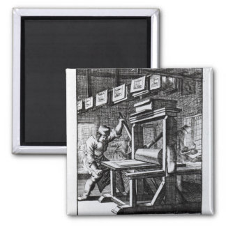 The Copper-plate Engraver, from 'Iets voor Magnets