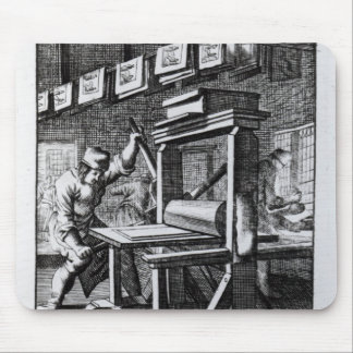 The Copper-plate Engraver, from 'Iets voor Mouse Pad
