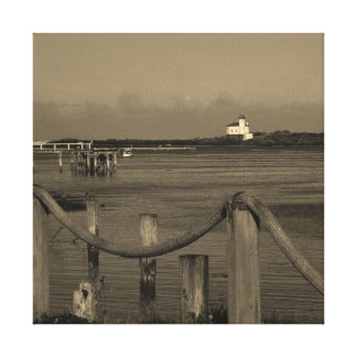 The Coquille River Lighthouse Canvas Print