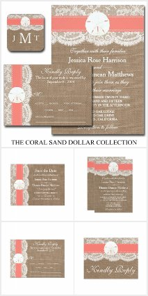 The Coral Sand Dollar Collection