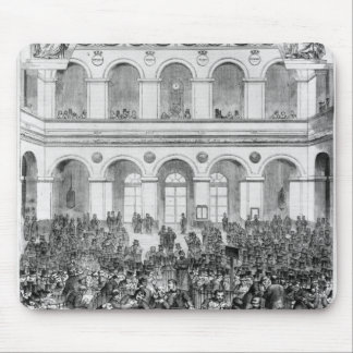The 'Corbeille' at the Paris Bourse, 1873 Mouse Pad