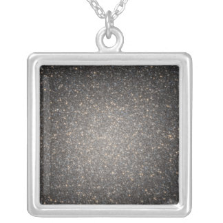 The core of the globular cluster Omega Centauri Silver Plated Necklace