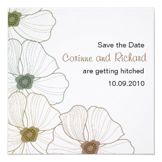 The Corinne Save the Date Card