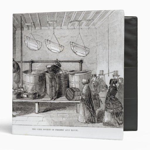 The Cork Society of Friends' Soup House Binder