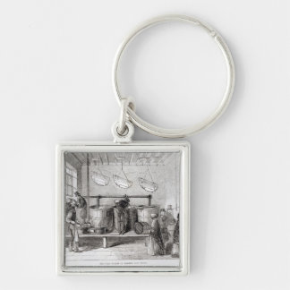 The Cork Society of Friends' Soup House Keychain