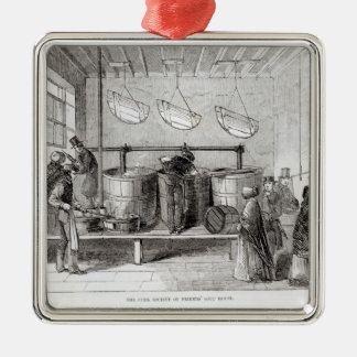 The Cork Society of Friends' Soup House Metal Ornament