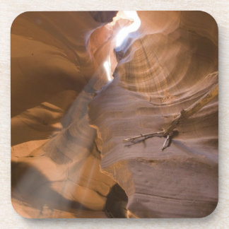 The Corkscrew in Upper Antelope Canyon, Navajo Beverage Coaster
