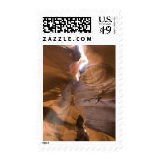The Corkscrew in Upper Antelope Canyon, Navajo Postage Stamps