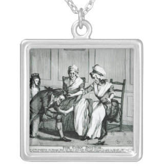 The Corn Doctor, 1793 Silver Plated Necklace