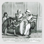 The Corn Doctor, 1793 Square Sticker