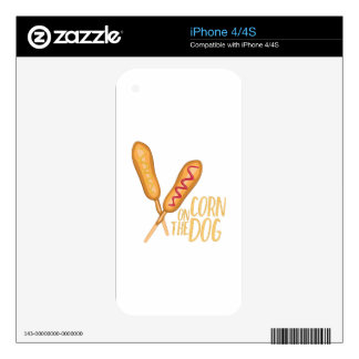 The Corn Dog Decals For iPhone 4S