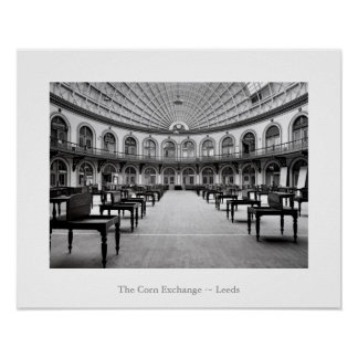 The Corn Exchange, Leeds poster