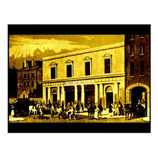 The Corn Exchange, Liverpool, 1827 Postcard