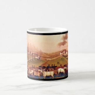 The Cornell Farm', Edward_Art of America Coffee Mug
