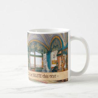 The Corner Drawing-Room of Emperor Nicholas I Classic White Coffee Mug
