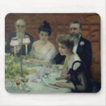 The Corner of the Table, 1904 Mouse Pad