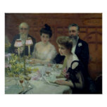 The Corner of the Table, 1904 Poster