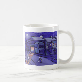 THE CORNER SHOP CLASSIC WHITE COFFEE MUG