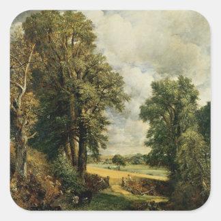 The Cornfield, 1826 Square Sticker