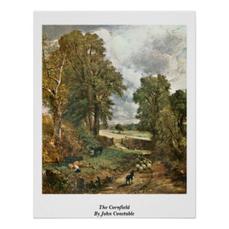 The Cornfield By John Constable Print