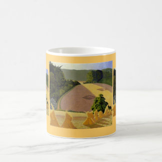 The Cornfield by John Nash Classic White Coffee Mug