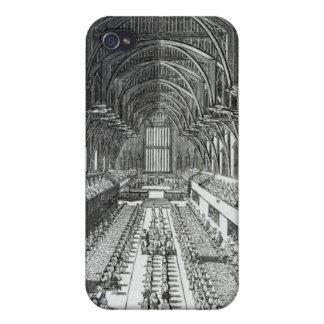 The Coronation Banquet in Westminster Hall iPhone 4 Cases