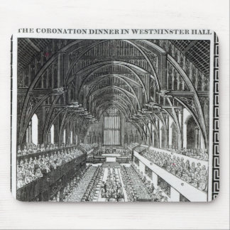 The Coronation Banquet in Westminster Hall Mouse Pad